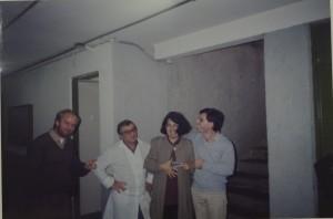 1993 MIP - Professores Nery Ernesto Kessler, Biase Francisco Faraco, Maria Marques Machado e Orlando José Bernardini