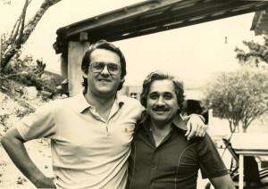 Professores Bruno Rodolfo Schlemper Jr. e Joaquim Alves ferreira Neto